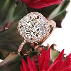 4.13ct Round Brilliant Cut Diamond Engagement Ring