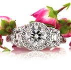 2.20ct Round Brilliant Cut Diamond Engagement Ring