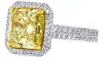 Natural Fancy Yellow Diamond | Mark Broumand
