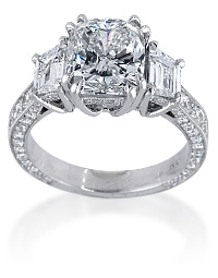 Custom Designed Engagement Ring | Mark Broumand