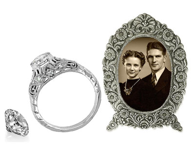 Repair Antique Rings with Loose Diamonds | Mark Broumand