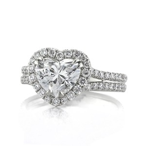 Heart Shaped Diamond Jewelry | Mark Broumand