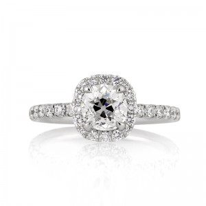 Antique Cushion Cut Diamond | Mark Broumand