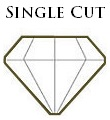 Antique Single Cut Diamond
