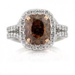 Custom Brown Diamond Ring | Mark Broumand