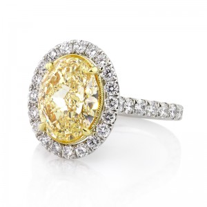 Fancy Yellow Diamond Rings | Mark Broumand