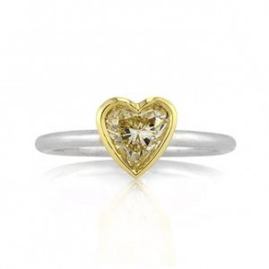 Heart Shaped Engagement Ring | Mark Broumand