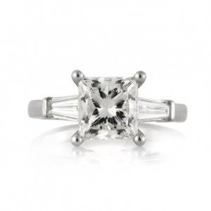 Princess Cut Diamond Rings | Mark Broumand