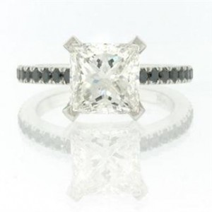 2.37ct Princess Cut Diamond Engagement Ring | Mark Broumand