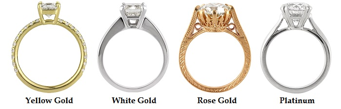 Engagement Ring Metal Choices | Mark Broumand