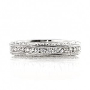 1.75ct Round Brilliant Cut Diamond Eternity Band | Mark Broumand