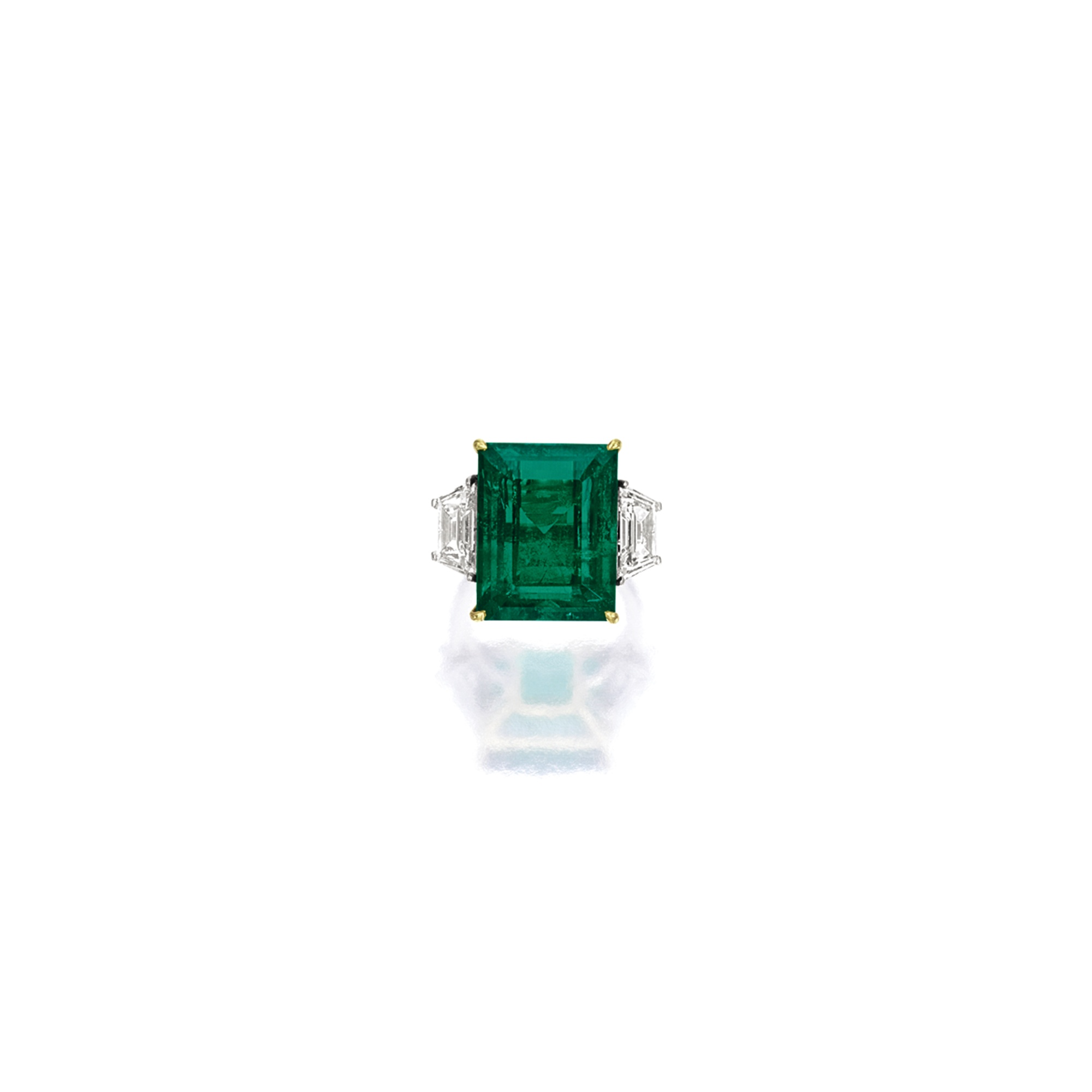 wg emerald band ring round radiant cut mounts diamond set mount halo semi engagement wedding