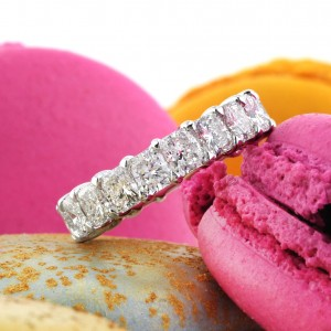 Radiant Cut Diamond Eternity Bands Gifts | Mark Broumand