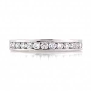 .55ct Round Brilliant Cut Diamond Channel Set Wedding Band | Mark Broumand