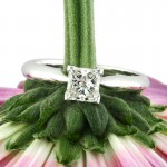 .70 ct Princess Cut Engagement Ring for $2895 | Mark Broumand