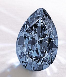 Fancy Vivid Blue Diamond from Sotheby's | Mark Broumand