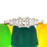Princess Cut Engagement Ring for $3895 | Mark Broumand