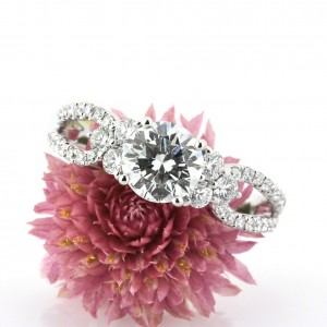 Wow Her with a Round Cut Diamond Engagement Ring | Mark Broumand