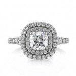1.81ct Cushion Cut Diamond Engagement Ring | Mark Broumand