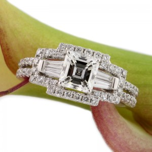 Gift Idea - Asscher Cut Engagement Rings | Mark Broumand