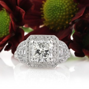 The Radiant Cut Diamond Engagement Ring | Mark Broumand