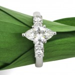 1.30ct Marquise Cut Diamond Engagement Ring | Mark Broumand