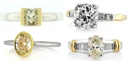 Two Tone Diamond Engagement Rings | Mark Broumand