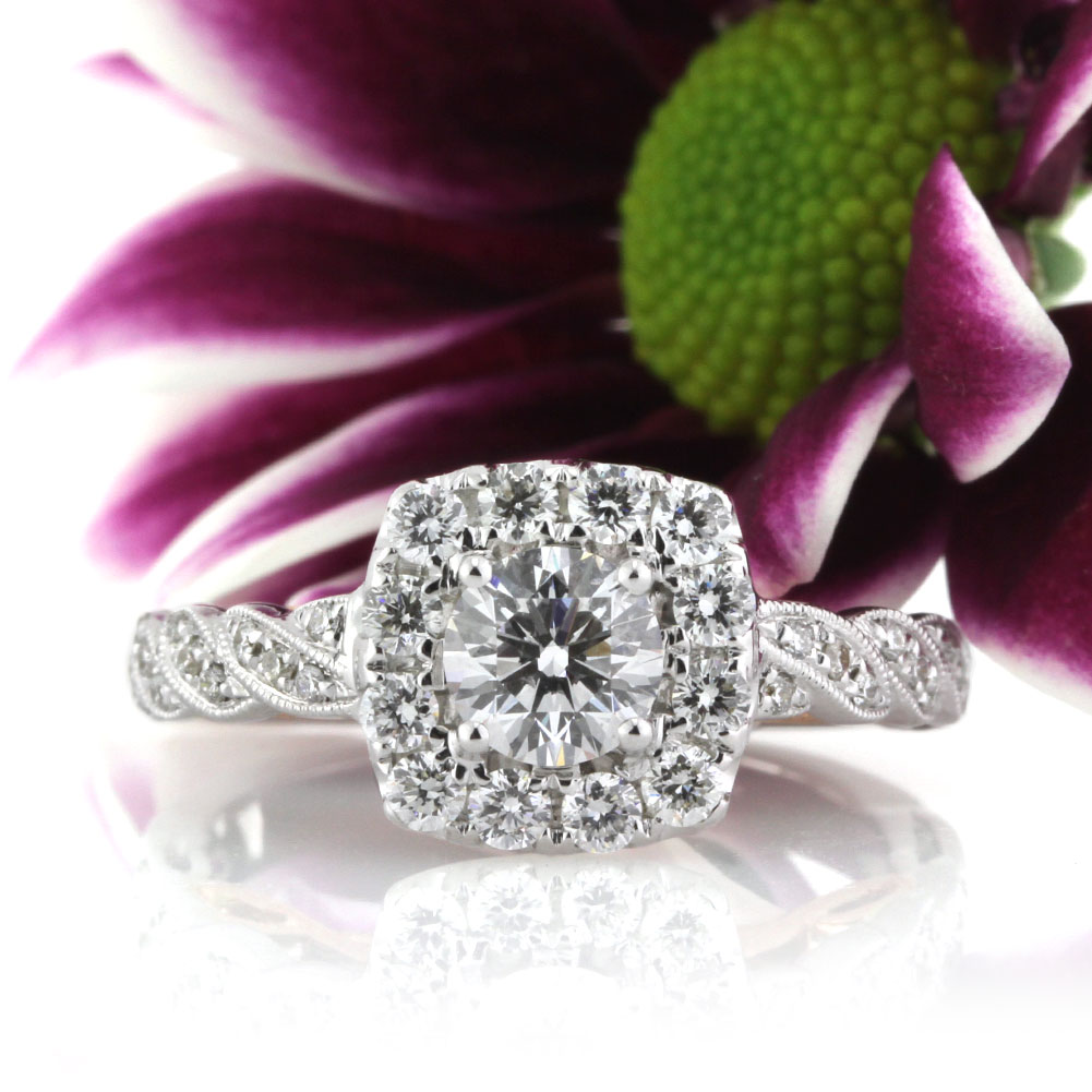 Fall in Love with the Round Brilliant Cut Diamond Engagement Ring | Mark Broumand