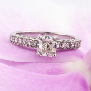 1.44ct Radiant Cut Diamond Engagement Ring | Mark Broumand