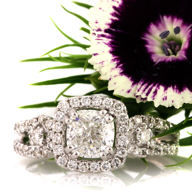Pillows of Light - The Cushion Cut Engagement Ring | Mark Broumand