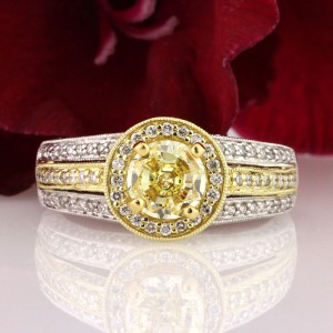 Stand out with a Fancy Yellow Diamond Engagement Ring | Mark Broumand