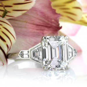 Beautiful New Three-Stone Diamond Engagement Rings | Mark Broumand