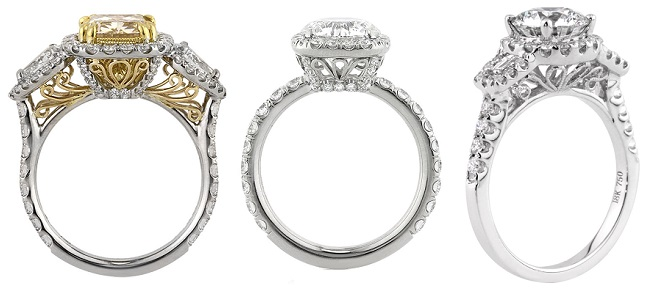 Filigree Details for your custom engagement ring | Mark Broumand
