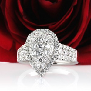 Halo Diamond Engagement Rings Under $5000 | Mark Broumand