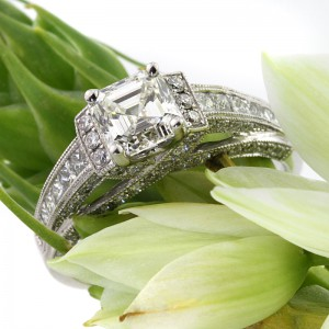 Diamond Engagement Rings with Side Stones | Mark Broumand