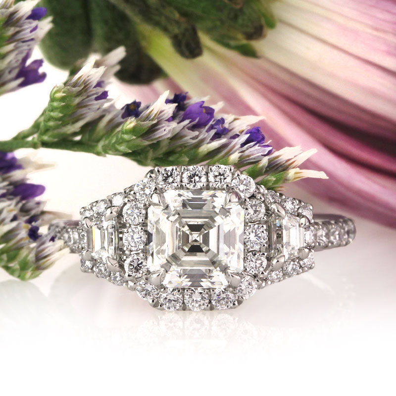 Three Reasons to Love the Asscher Cut Engagement Ring | Mark Broumand