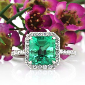 Add Color to Your Love with a Gemstone and Diamond Engagement Ring | Mark Broumand