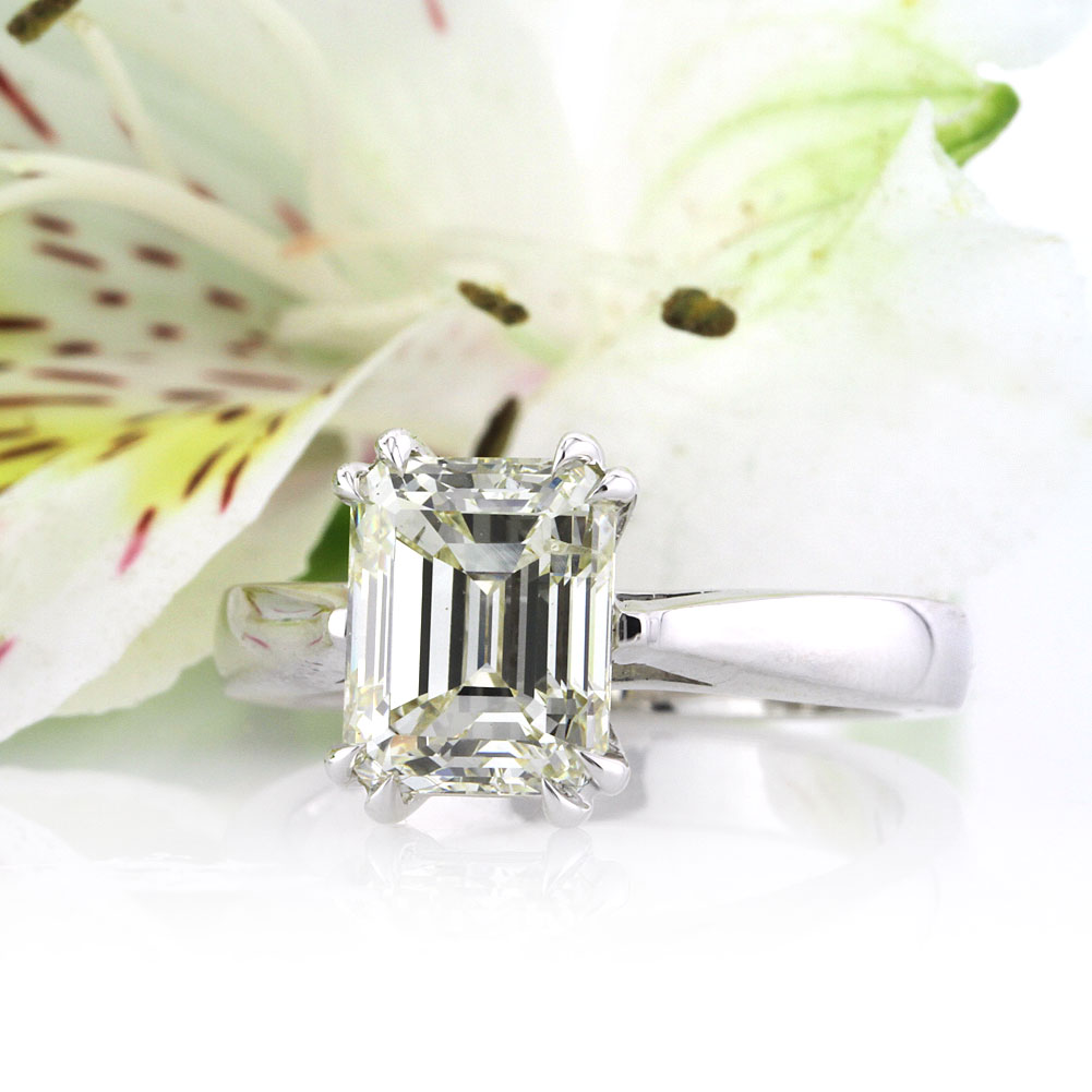 The Wow Factor of an Emerald Cut Diamond Ring | Mark Broumand