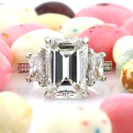 7.18ct Emerald Cut Diamond Engagement Ring | Mark Broumand