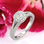 1.40ct Cushion Cut Diamond Engagement Ring | Mark Broumand