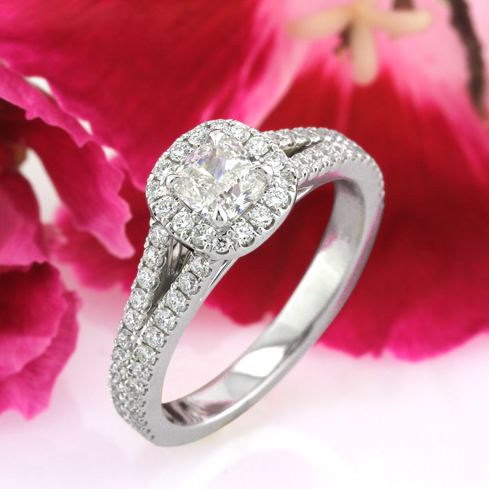 Select a New Cushion Cut Diamond Engagement Ring | Mark Broumand