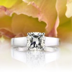 1.55ct Cushion Cut Diamond Solitaire Engagement Ring | Mark Broumand