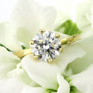 2.00ct Round Brilliant Cut Diamond Solitaire