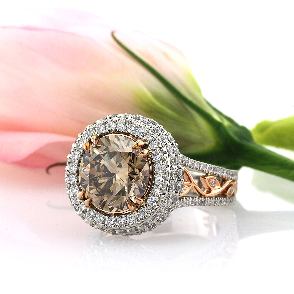 Fancy Color Engagement Rings – Simply Sweet Chocolate Diamonds ...