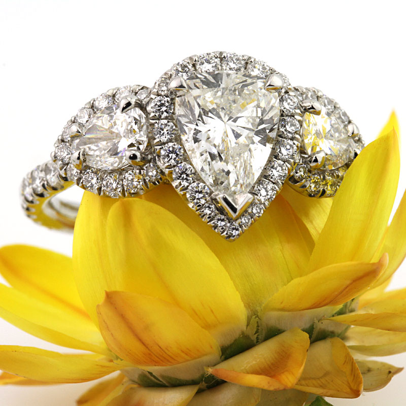 The Brilliance of Pear-Shaped Diamonds Throughout History | Mark Broumand