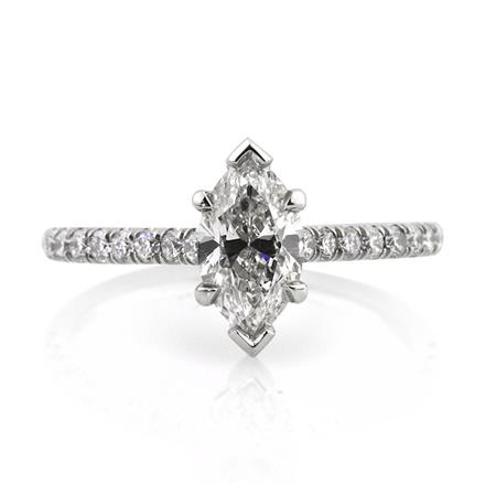 d1fcce7860847 1.52ct Marquise Cut Diamond Engagement Ring