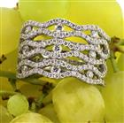 2.50ct Round Brilliant Cut Diamond Ring Masterpiece