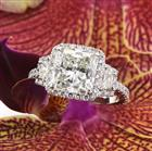 4.02ct Radiant Cut Diamond Engagement Ring
