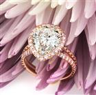 4.37ct Pear Shaped Diamond Engagement Ring