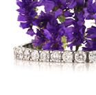 21.90ct Round Brilliant Cut Diamond Tennis Bracelet